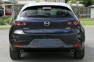2019 Mazda 3 BP2HLA G25 SKYACTIV-Drive Evolve Deep Crystal Blue 6 Speed Sports Automatic Hatchback