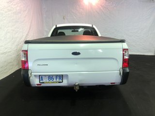 2008 Ford Falcon FG Ute Super Cab White 5 Speed Automatic Utility