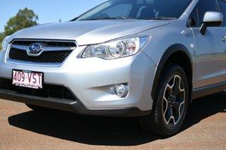 2013 Subaru XV MY14 2.0I Ice Silver Continuous Variable Wagon