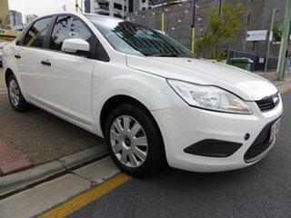2009 Ford Focus LV LX White 4 Speed Automatic Sedan.