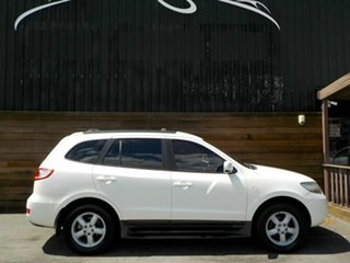 2007 Hyundai Santa Fe CM MY08 SLX White 5 Speed Sports Automatic Wagon.