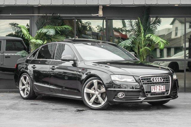 Used Audi A4 B8 8K MY12 S Tronic Quattro, 2011 Audi A4 B8 8K MY12 S Tronic Quattro Black 7 Speed Sports Automatic Dual Clutch Sedan