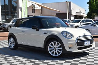 2014 Mini Hatch F56 Cooper White 6 Speed Automatic Hatchback.