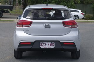 2017 Kia Rio YB MY18 S Silky Silver 4 Speed Sports Automatic Hatchback