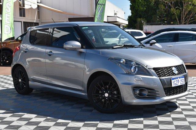 Used Suzuki Swift FZ MY15 Sport, 2015 Suzuki Swift FZ MY15 Sport Silver 7 Speed Constant Variable Hatchback