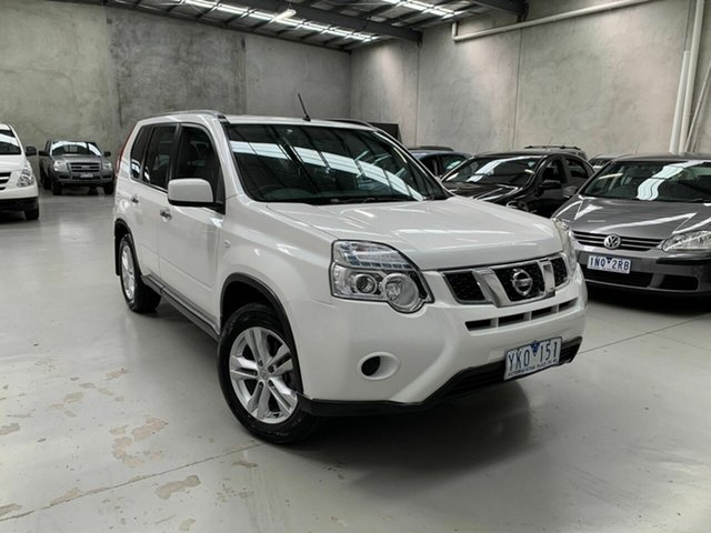 Used Nissan X-Trail T31 Series IV ST 2WD, 2011 Nissan X-Trail T31 Series IV ST 2WD White 6 Speed Manual Wagon