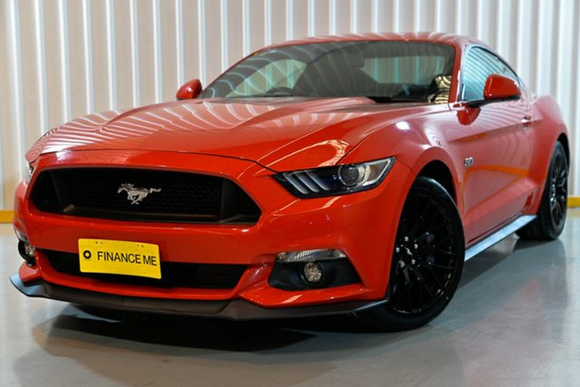 Used Ford Mustang FM GT Fastback SelectShift, 2016 Ford Mustang FM GT Fastback SelectShift Red/Black 6 Speed Sports Automatic Fastback