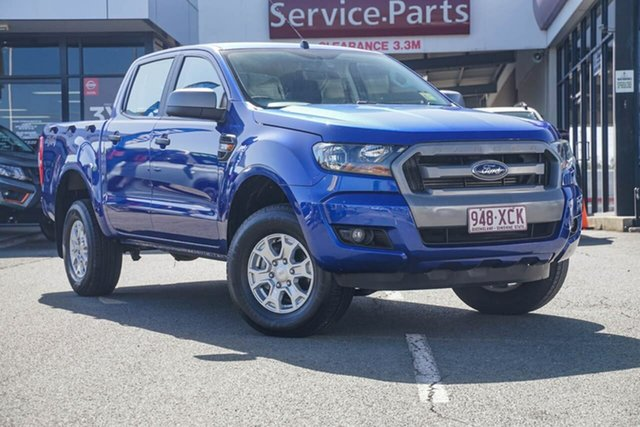Used Ford Ranger PX MkII XLS Double Cab, 2016 Ford Ranger PX MkII XLS Double Cab Blue 6 Speed Sports Automatic Utility