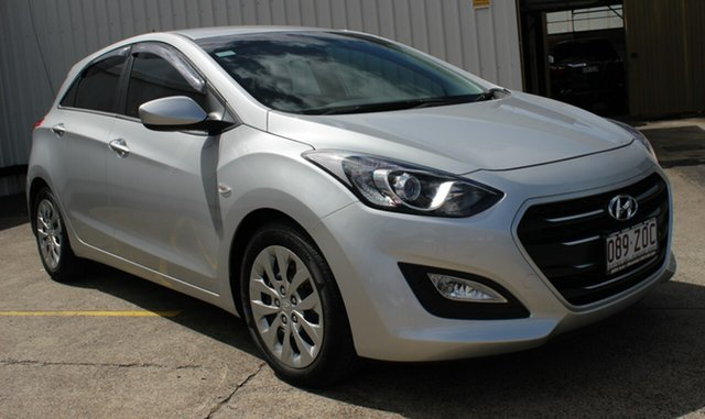 Used Hyundai i30 GD3 Series II MY16 Active, 2015 Hyundai i30 GD3 Series II MY16 Active Silver 6 Speed Sports Automatic Hatchback