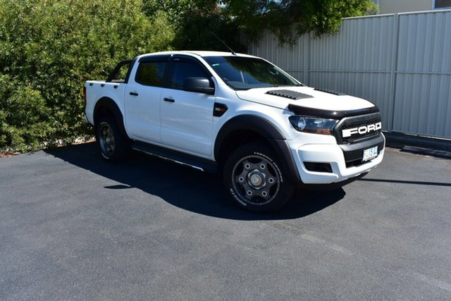 Used Ford Ranger PX MkII XL Super Cab, 2016 Ford Ranger PX MkII XL Super Cab White 6 Speed Manual Utility