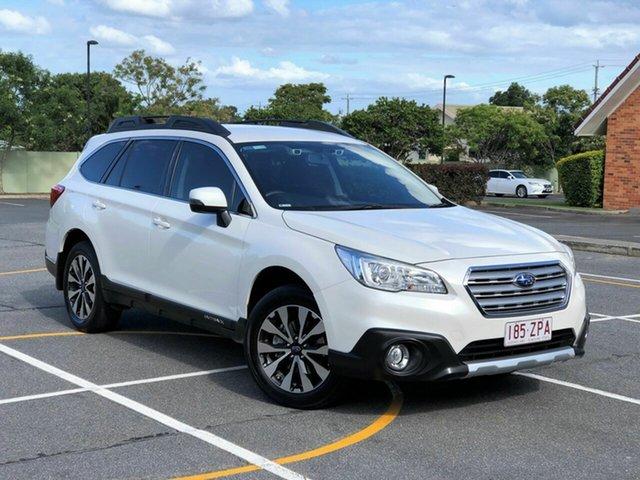 Used Subaru Outback B6A MY15 2.5i CVT AWD, 2015 Subaru Outback B6A MY15 2.5i CVT AWD White 6 Speed Wagon