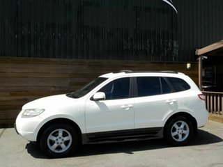 2007 Hyundai Santa Fe CM MY08 SLX White 5 Speed Sports Automatic Wagon