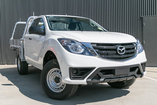 2020 Mazda BT-50 UR0YG1 XT Freestyle Cool White 6 Speed Sports Automatic Cab Chassis.