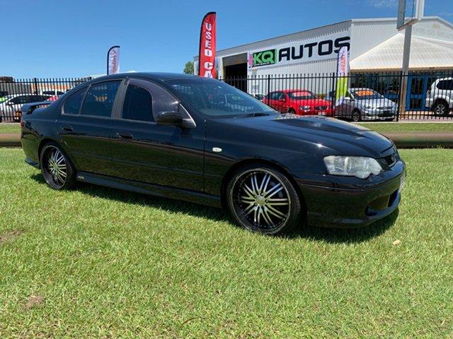 Used Ford Falcon BA Mk II XR6, 2005 Ford Falcon BA Mk II XR6 Black 4 Speed Sports Automatic Sedan