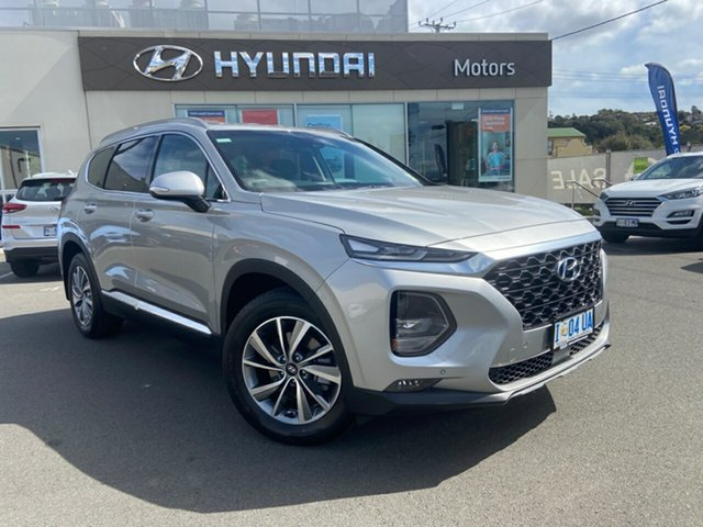 Demo Hyundai Santa Fe TM.2 MY20 Elite, 2019 Hyundai Santa Fe TM.2 MY20 Elite Typhoon Silver 8 Speed Sports Automatic Wagon
