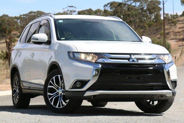 Used Mitsubishi Outlander ZK MY16 XLS 4WD, 2015 Mitsubishi Outlander ZK MY16 XLS 4WD White 6 Speed Sports Automatic Wagon