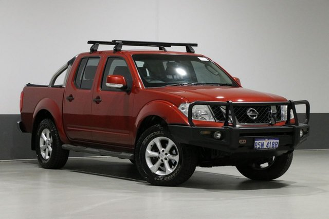 Used Nissan Navara D40 MY12 ST (4x4), 2012 Nissan Navara D40 MY12 ST (4x4) Red 6 Speed Manual Dual Cab Pick-up