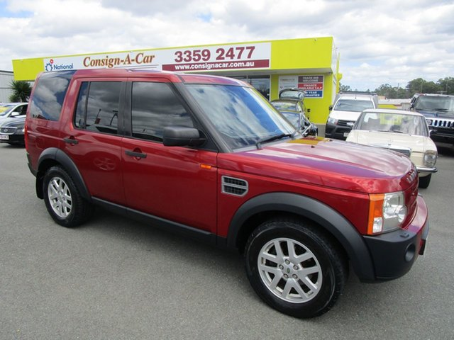 Used Land Rover Discovery 3  SE, 2006 Land Rover Discovery 3 SE Red 6 Speed Sports Automatic Wagon