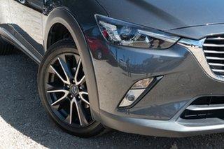 2015 Mazda CX-3 DK2W7A Akari SKYACTIV-Drive Silver 6 Speed Sports Automatic Wagon.