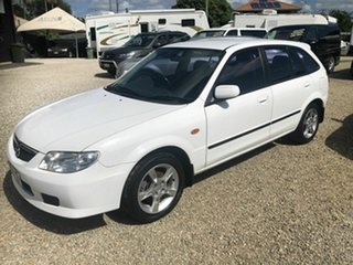 2003 Mazda 323 White 5 Speed Manual Wagon