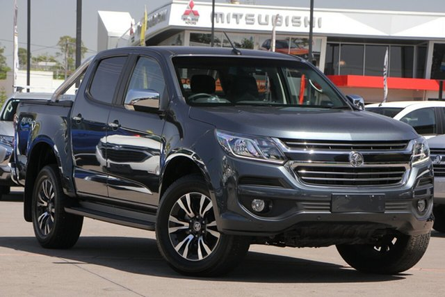 Used Holden Colorado RG MY20 LTZ Pickup Crew Cab, 2019 Holden Colorado RG MY20 LTZ Pickup Crew Cab Dark Shadow 6 Speed Sports Automatic Utility