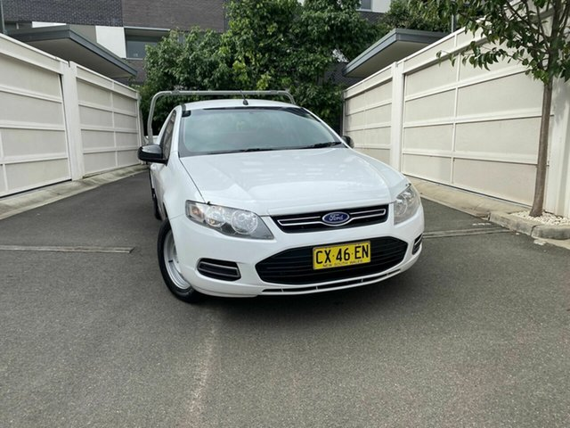 Used Ford Falcon FG MkII Super Cab, 2012 Ford Falcon FG MkII Super Cab White 6 Speed Sports Automatic Cab Chassis