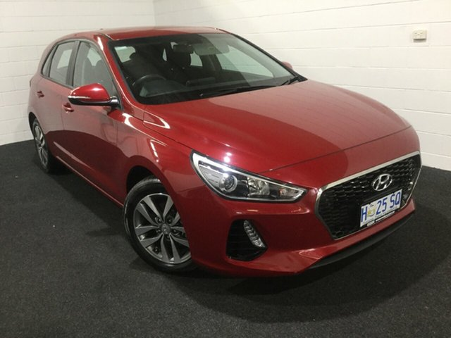 Used Hyundai i30 PD2 MY18 Active, 2018 Hyundai i30 PD2 MY18 Active Fiery Red 6 Speed Sports Automatic Hatchback