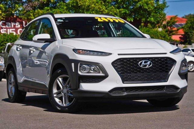 Used Hyundai Kona OS MY18 Active 2WD, 2017 Hyundai Kona OS MY18 Active 2WD White 6 Speed Sports Automatic Wagon