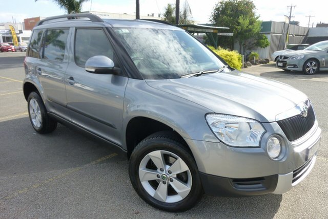 Used Skoda Yeti 5L MY13 77TSI, 2012 Skoda Yeti 5L MY13 77TSI Charcoal Grey 6 Speed Manual Wagon