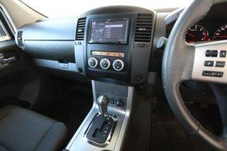 2012 Nissan Navara D40 S5 MY12 ST-X Blackline Silver 7 Speed Sports Automatic Utility