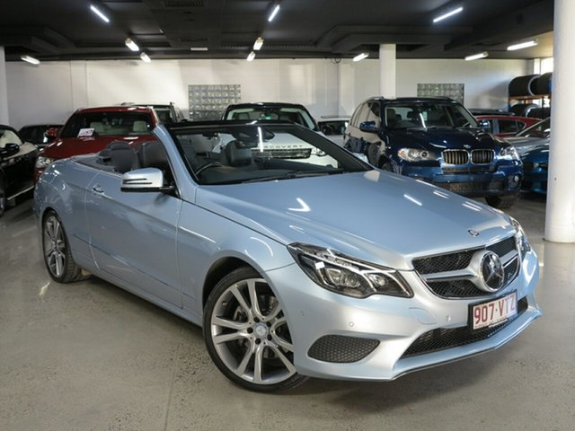 Used Mercedes-Benz E-Class A207 806MY E250 7G-Tronic +, 2015 Mercedes-Benz E-Class A207 806MY E250 7G-Tronic + Diamond Silver 7 Speed Sports Automatic