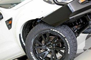 2013 Ford Ranger PX XL 2.2 Hi-Rider (4x2) White 6 Speed Automatic Crew Cab Pickup.