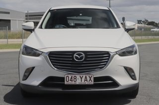 2018 Mazda CX-3 DK MY17.5 S Touring (FWD) Snowflake White Pearl 6 Speed Automatic Wagon