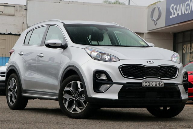Used Kia Sportage QL MY19 AO Edition 2WD, 2018 Kia Sportage QL MY19 AO Edition 2WD Silver 6 Speed Sports Automatic Wagon