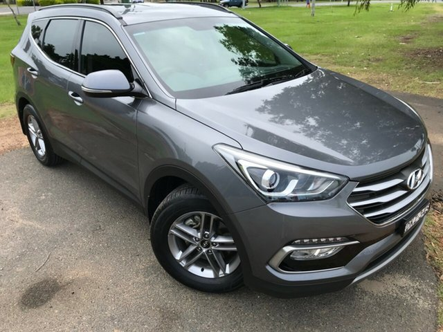 Used Hyundai Santa Fe DM3 MY16 Active, 2016 Hyundai Santa Fe DM3 MY16 Active Titanium Silver 6 Speed Sports Automatic Wagon