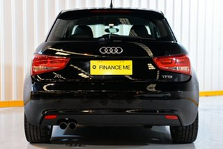 2015 Audi A1 8X MY14 Attraction Sportback S Tronic Black 7 Speed Sports Automatic Dual Clutch
