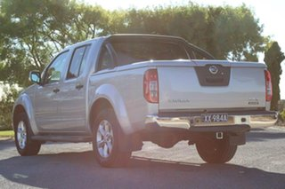 2012 Nissan Navara D40 S5 MY12 ST-X Blackline Silver 7 Speed Sports Automatic Utility.
