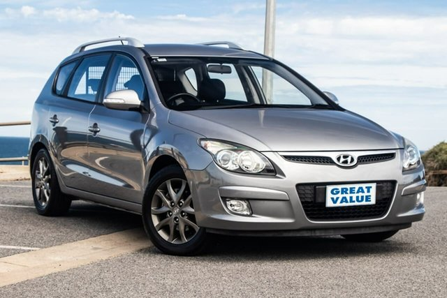 Used Hyundai i30 FD MY11 SLX cw Wagon, 2012 Hyundai i30 FD MY11 SLX cw Wagon Grey 4 Speed Automatic Wagon