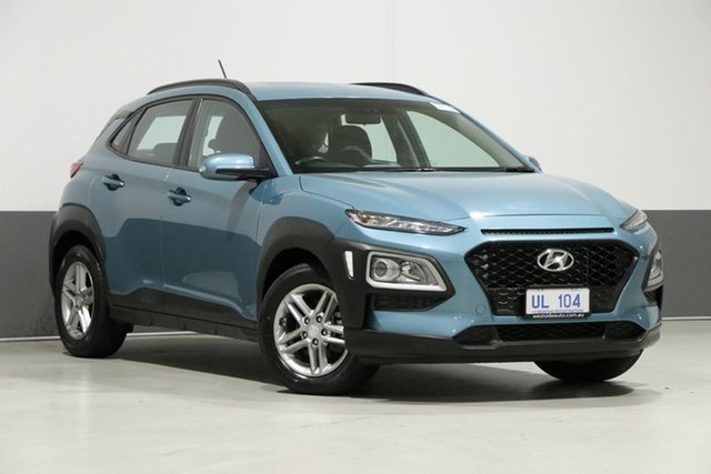 Used Hyundai Kona OS Active (FWD), 2018 Hyundai Kona OS Active (FWD) Blue 6 Speed Automatic Wagon