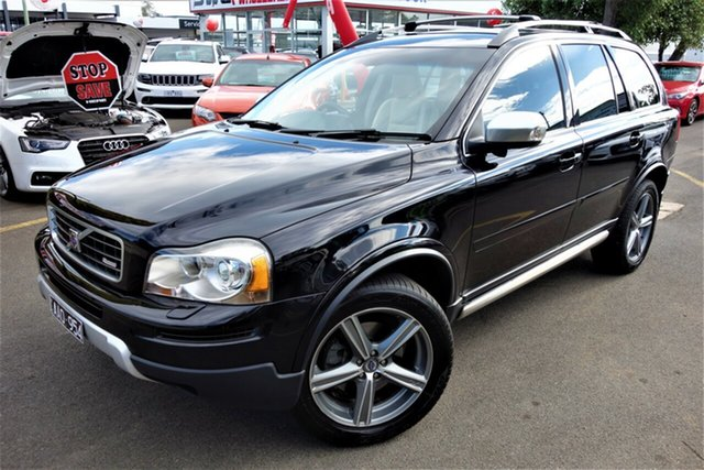 Used Volvo XC90 P28 MY10 D5 Geartronic R-Design, 2010 Volvo XC90 P28 MY10 D5 Geartronic R-Design Black 6 Speed Sports Automatic Wagon