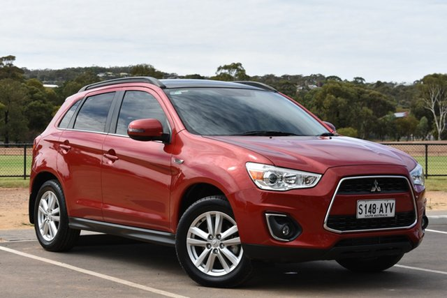 Used Mitsubishi ASX XB MY13 Aspire, 2013 Mitsubishi ASX XB MY13 Aspire Red 6 Speed Sports Automatic Wagon