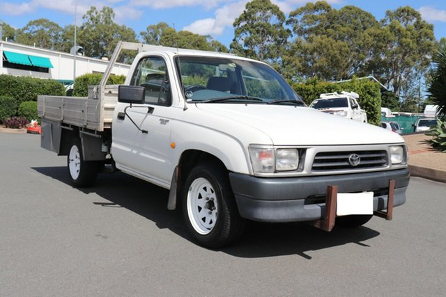 Used Toyota Hilux LN147R 4x2, 1997 Toyota Hilux LN147R 4x2 French Vanilla 5 speed Manual Cab Chassis