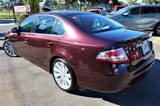 2009 Ford Falcon FG G6E Turbo Red 6 Speed Sports Automatic Sedan