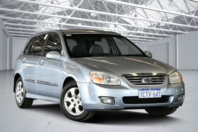 Used Kia Cerato LD MY07 EX, 2007 Kia Cerato LD MY07 EX Blue 5 Speed Manual Hatchback
