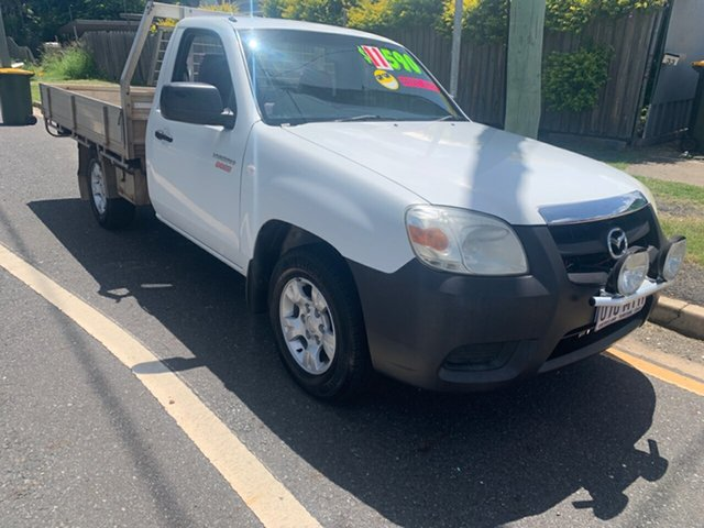 Used Mazda BT-50  DX, 2009 Mazda BT-50 DX White Manual Cab Chassis