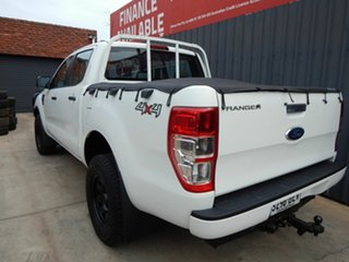 2015 Ford Ranger PX XL Double Cab White 6 Speed Manual Utility
