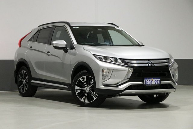 Used Mitsubishi Eclipse Cross YA MY18 LS (2WD), 2019 Mitsubishi Eclipse Cross YA MY18 LS (2WD) Silver Continuous Variable Wagon