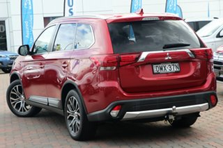 2016 Mitsubishi Outlander ZK MY16 LS 2WD Red 6 Speed Constant Variable Wagon