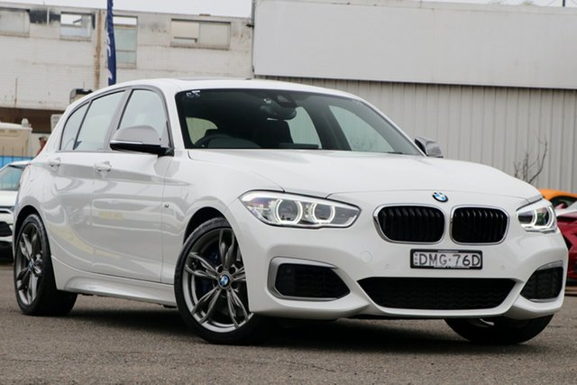 Used BMW 1 Series F20 LCI M140i, 2017 BMW 1 Series F20 LCI M140i White 8 Speed Sports Automatic Hatchback