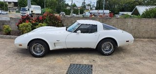 1979 Chevrolet Corvette White 4 Speed Automatic Targa.